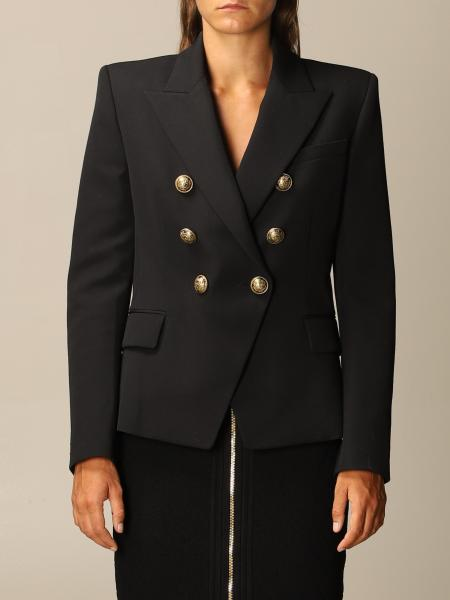 Structured double-breasted Balmain jacket
