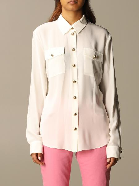 Balmain silk shirt with buttons
