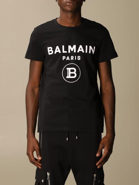 Balmain cotton t-shirt with logo
