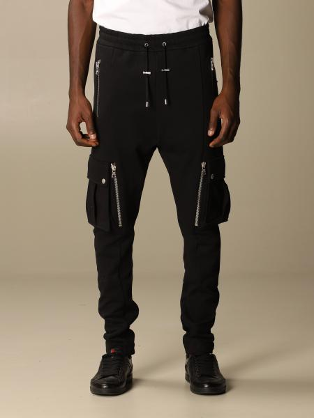 Balmain jogging trousers with all over pockets