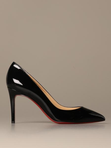 Pigalle Christian Louboutin patent leather pumps