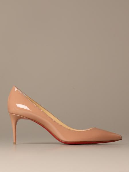 Kate Christian Louboutin patent leather pumps