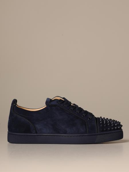 Louis Junior Christian Louboutin sneakers in suede with studs