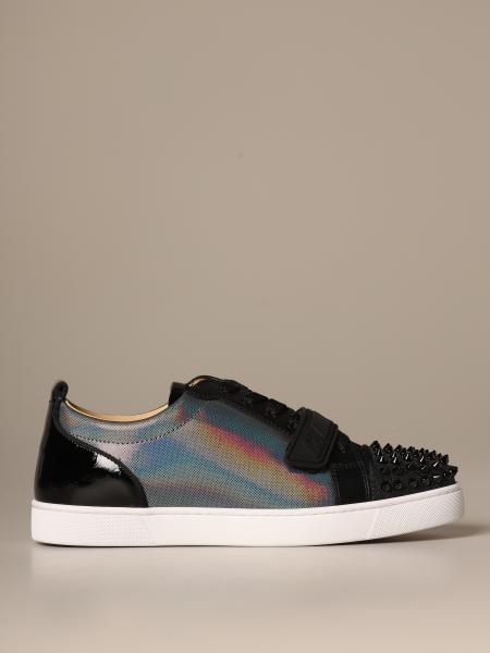 Louis Junior Christian Louboutin sneakers with studs