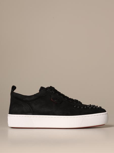 Happy Rui Christian Louboutin sneakers in suede with studs