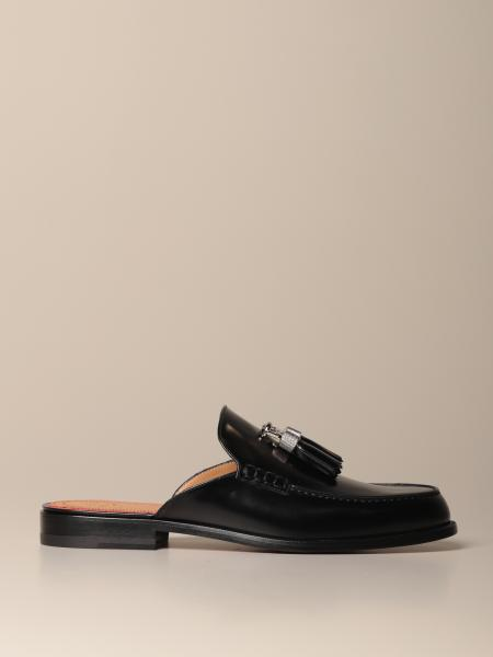 Rivaslide Christian Louboutin loafer in leather with tassels