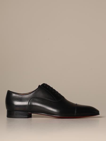 Christian Louboutin Raw Oxford shoe in leather