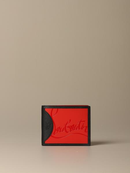 Christian Louboutin Coolcard wallet in leather with logo