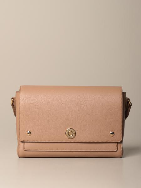 Burberry shoulder bag in vintage striped leather and cotton