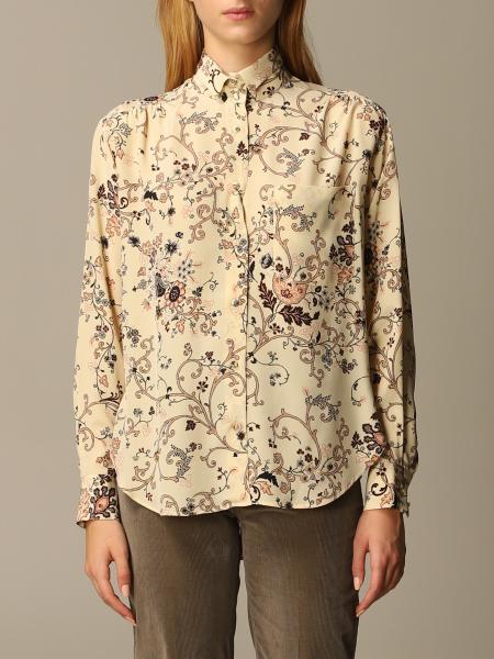 Camicia Etro in seta con stampa ramage