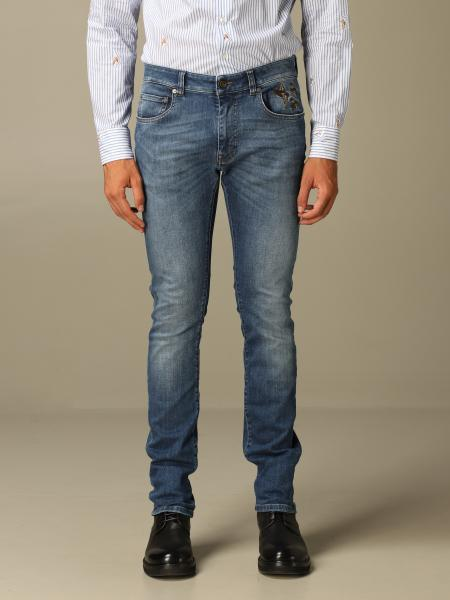 Etro jeans in slim fit stretch denim