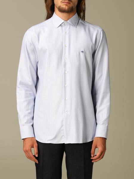 Etro cotton shirt with Italian collar