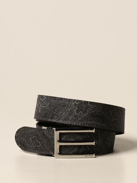 Cintura Etro in tessuto paisley jacquard