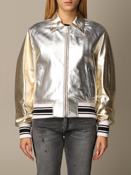 Golden Goose: Golden Goose bomber in laminated leather