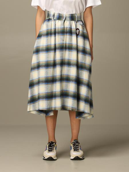 Golden Goose: Golden Goose tartan skirt with pins