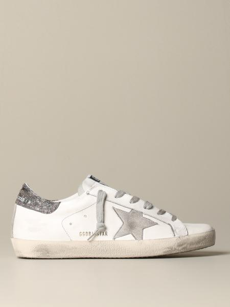Sneakers Superstar Golden Goose in pelle