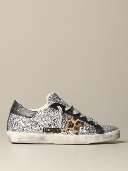 Sneakers Superstar classic Golde Goose glitter