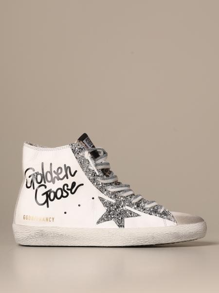 Golden Goose Francy classic sneakers with glitter details