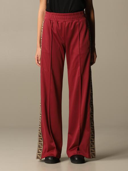 Fendi jogging trousers with FF bands