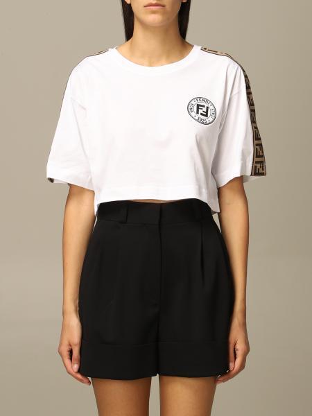 T-shirt damen Fendi