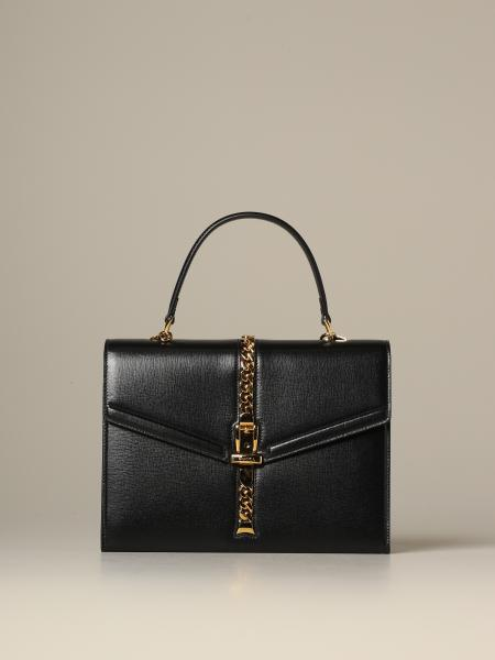 Gucci Sylvie 1969 handbag in leather