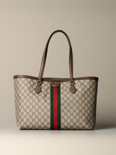Ophidia Gucci GG Supreme shopping bag