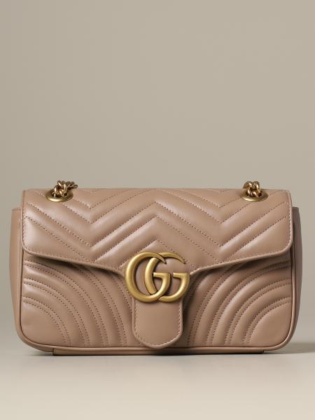 Gucci Marmont 绗缝皮革手袋