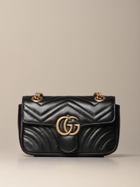 Bolso Marmont Gucci mini de piel
