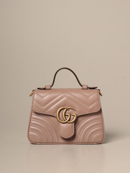 Marmont Gucci Handtasche aus gestepptem Leder