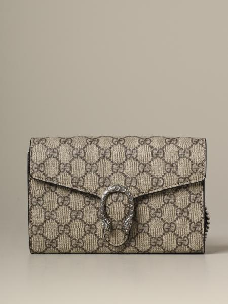 Dionysus Gucci GG Supreme 皮革手袋
