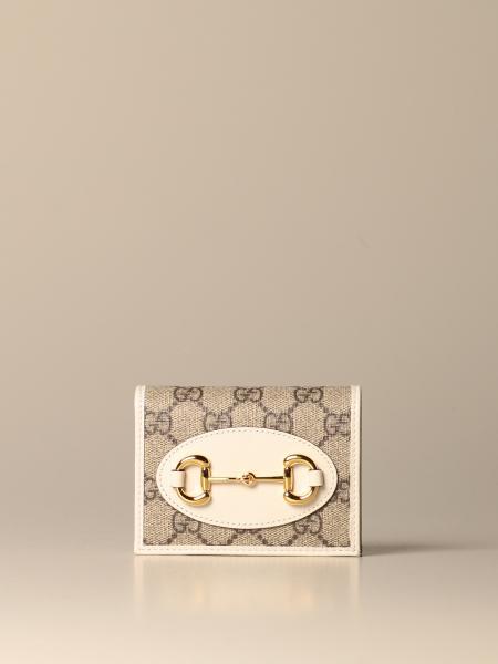 GG Supreme 面料制成的 Gucci Horsebit 1955 钱包