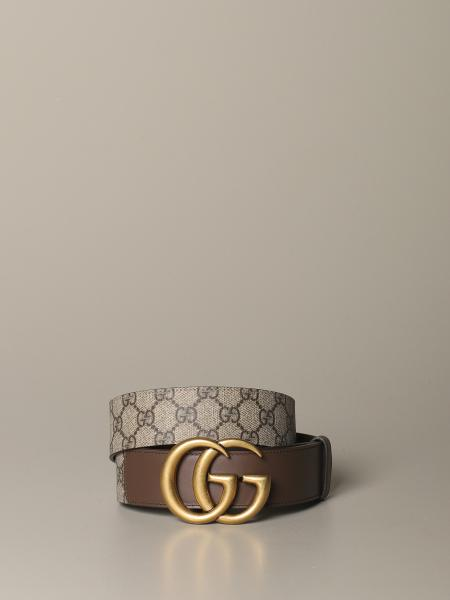 Cintura Gucci in tessuto GG supreme
