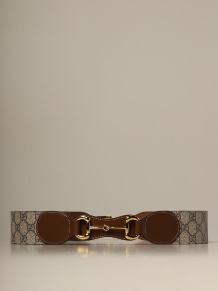 Cintura Horsebit Gucci GG Supreme