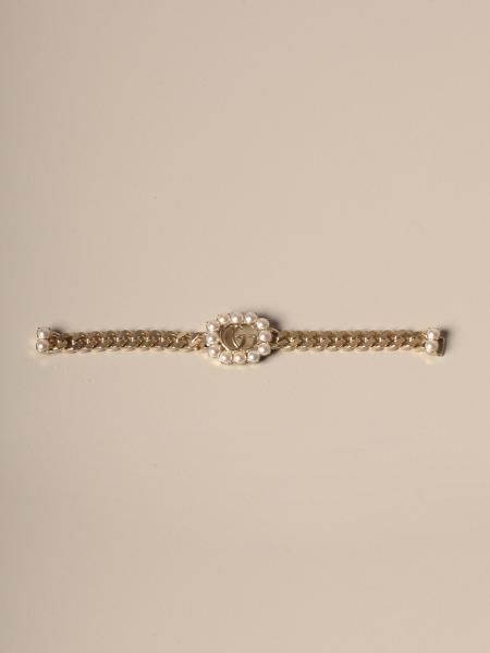 Gucci bracelet with pearl logo