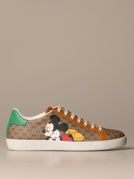 Disney Ace x Gucci GG Supreme sneakers