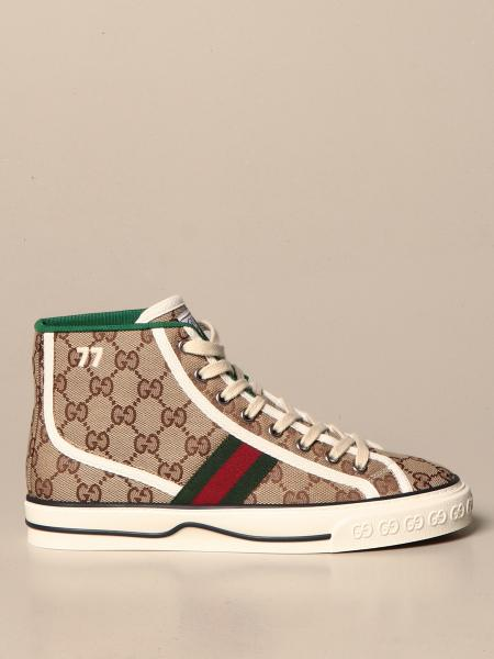 Gucci 1977 Tennis Sneakers aus Original GG Supreme Stoff