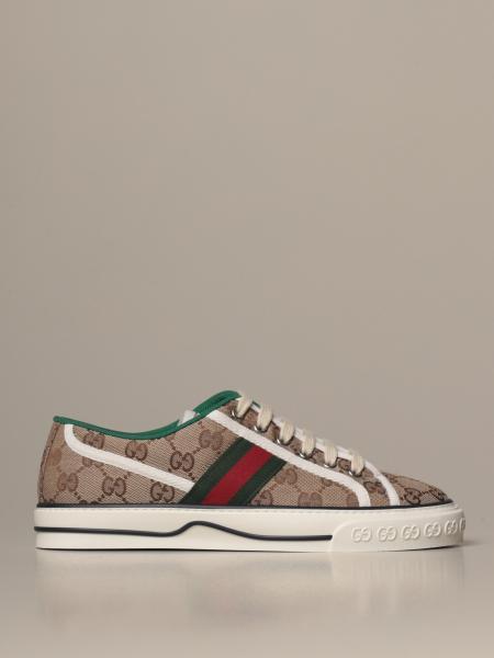 Gucci 1977 Tennis sneakers in Original GG Supreme fabric