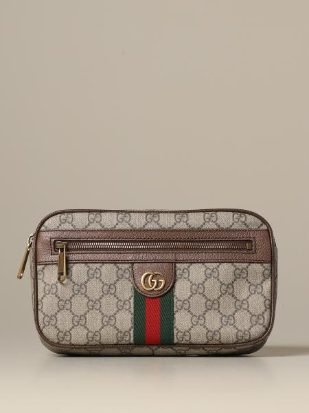 Ophidia Gucci GG Supreme belt bag with Web band