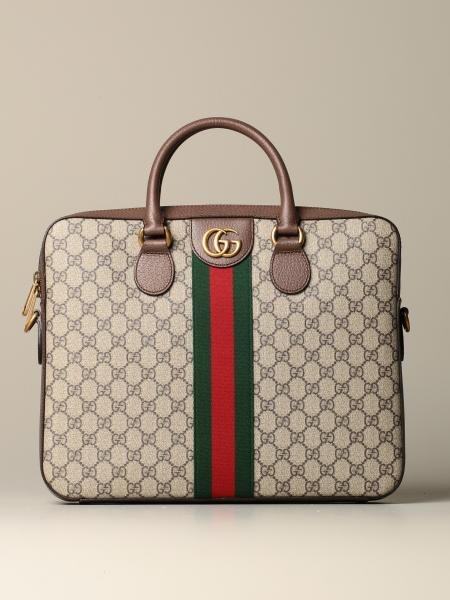 Ophidia Gucci GG Supreme briefcase bag