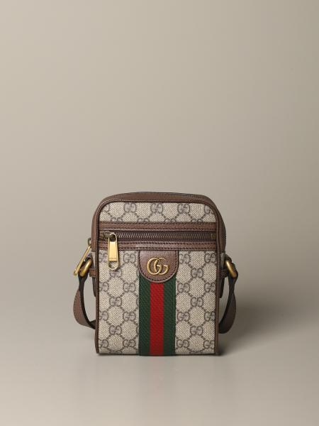 Ophidia Gucci shoulder bag in GG supreme fabric