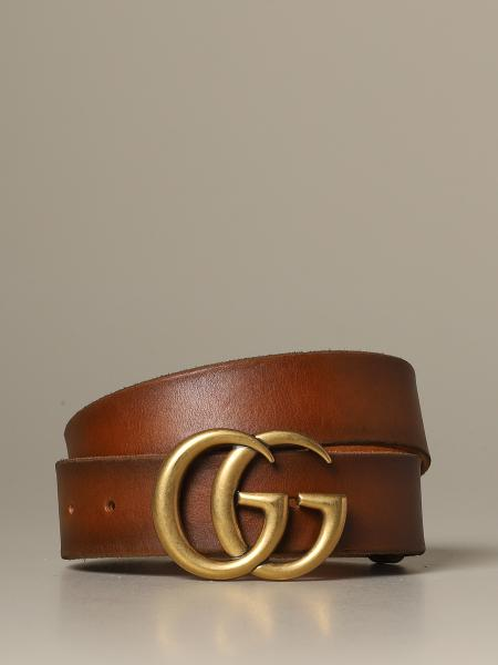 Gucci Marmont belt in shaded leather