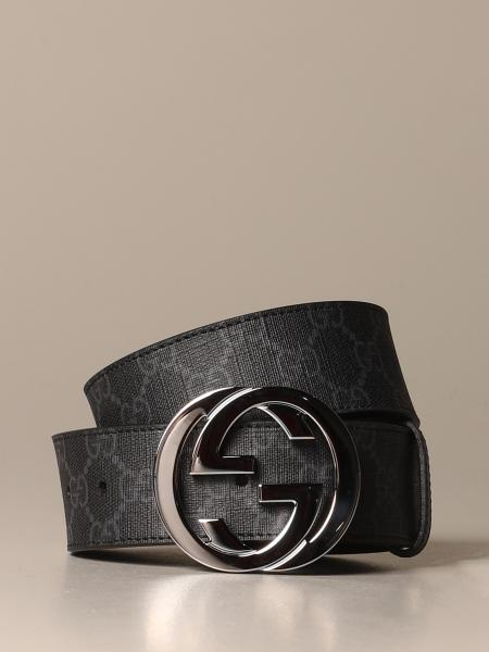 Gucci belt in GG supreme fabric