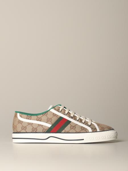 Baskets Tennis Gucci 1977 en tissu Original GG Supreme