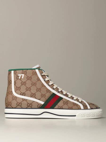 Gucci 1977 tennis sneakers with Original GG Supreme motif