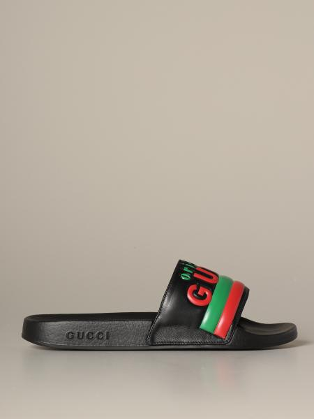 Gucci Pursuit Original rubber sandal