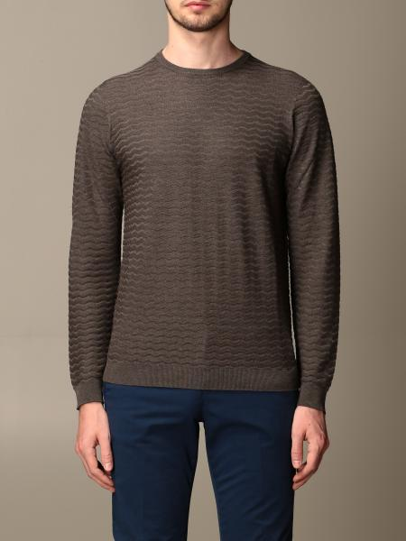 Giorgio Armani: Giorgio Armani sweater in cotton and wave silk