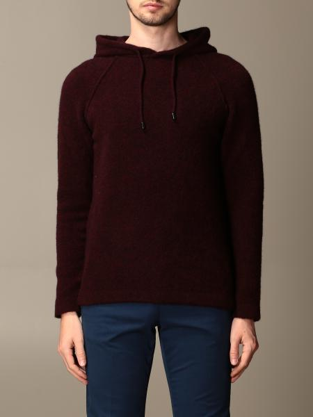 Giorgio Armani: Giorgio Armani hooded sweater in virgin wool blend