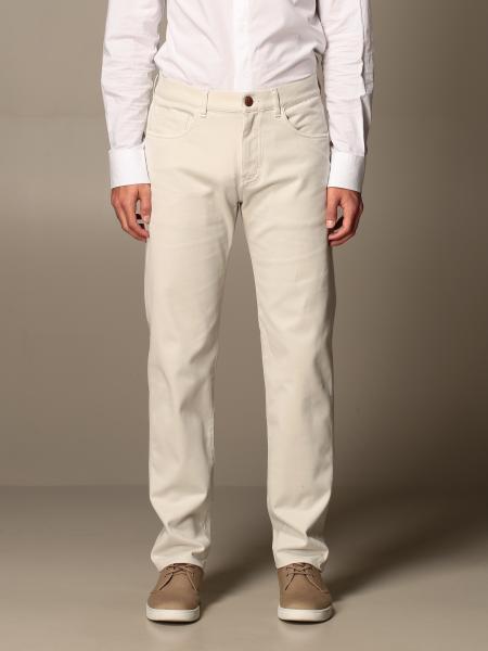 Giorgio Armani men: Giorgio Armani cotton trousers