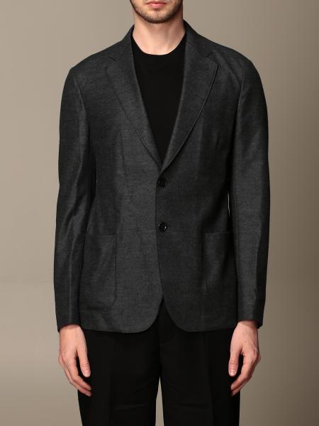 Giacca Giorgio Armani in jersey di lana