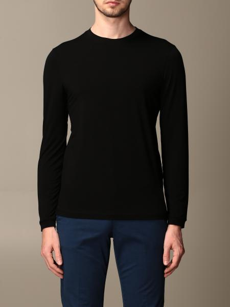 Giorgio Armani: Giorgio Armani sweater in stretch viscose jersey